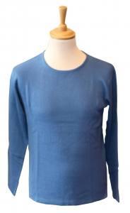 pull jersey léger coton brut non peigné.