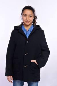 Manteau breton à capuche